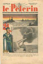 Royal Marine Sailor Winston Churchill Blocus England UK Angleterre War WWII 1939