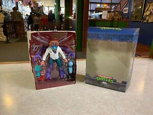 """Super7 Teenage Mutant Ninja Turtles Ultimate BAXTER STOCKMAN 7"""" Figure w/ Box"""