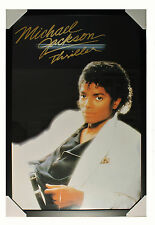RARE  ~ Michael Jackson ~ Thriller~  Laminated Framed Collectors Poster