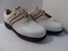 Dexter Women's Vineyard Golf Spike Shoe White/Biege Size 7M