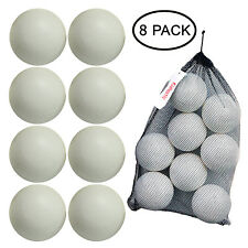 Kidtastic T-Ball Balls, 3.5-inch, Jumbo Size (8 Pack) with Durable Mesh Ball Bag