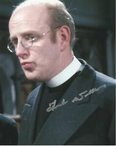 Frank Williams as the vicar from Dads Army hand signed photo UACC Dealer
