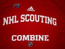 NHL SCOUTING COMBINE ADIDAS CLIMALITE PRO STOCK SPEEDWICK SHIRT PRO RETURN NEW