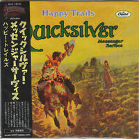 QUICKSILVER MESSENGER SERVICE-HAPPY TRAILS-IMPORT CD WITH JAPAN OBI Ltd/Ed F56
