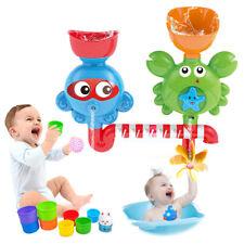 Baby Badespaß Badewannen Spielzeug Krabbe Form Strand Blubberwal Wasser Spritzen