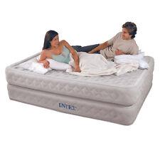 Materasso matrimoniale intex 64464 queen supreme gonfiabile airbed pompa - Rotex