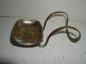 Fancy Claw Foot Tub chrome metal brass Antique Soap Holder Dish Antique