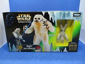 Star Wars Wampa and Luke Skywalker By Kenner NEW in Box 1997