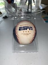 Limited Edition 1-5000 Authentic Baseball ESPN First Broadcasts VERY RARE New!