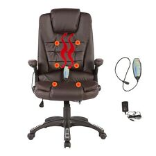 massage chair ebay. heated vibrating massage chair executive ergonomic computer office desk brown ebay