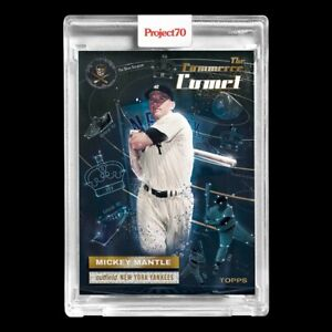Topps PROJECT 70 Card 174 - Mickey Mantle by The Shoe Surgeon - PRESALE!