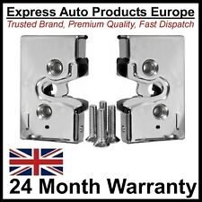 PAIR of Chrome Front Door Lock Mechanism VW Golf Mk1 MK2 Driver & Passenger