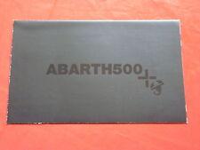 ABARTH 500 Faltprospekt Poster von 2009