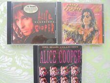 CD Sammlung Alice Cooper 3 CDS s. Foto