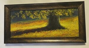 "Bill Gramley Clemmons, NC ""October Light"" Signed Pastel Painting MINT! July 2014"