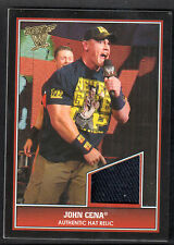 BEST OF WWE 2013 (Topps) AUTHENTIC EVENT WORN HAT RELIC by JOHN CENA 1:2,775