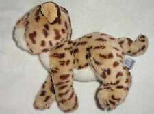 Just Friends Chosun Plush Leopard Cheetah Stuffed Animal Toy 1998 9""