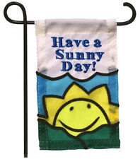 MINI GARDEN FLAG FOR FLOWER POT - HAVE A SUNNY DAY! - JEANE'S THINGS