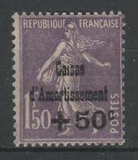 "FRANCE STAMP TIMBRE 268 "" SEMEUSE +50c SUR 1F50  C.A.1930 "" NEUF xx LUXE P645"
