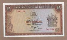 RHODESIA: 5 Dollars Banknote,(UNC),P-36b, 20.10.1978, No Reserve!