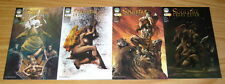 Michael Turner's Soulfire: Chaos Reign # 0 & 1-3 VF/NM complete series - set 2