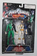 """Bandai Power Rangers SPD 6"""" Light Patrol Green Ranger & Omega Ranger 2-Pack"""