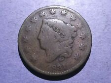 1831 Coronet Head Large Cent Good Price Drop
