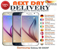 Samsung Galaxy S6 G920F 32GB Sapphire Gold Platinum White Blue Unlocked Phone