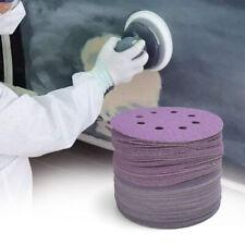 5'' inch Purple Clean Sanding Disc Sandpaper Pad 40-800 Assorted Grit Hook Loop