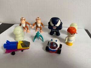 NESQUICK / PAMPERS / NESTLE / BONUX - Lot de jouets publicitaires