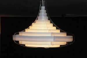 Vita Pagoda - Stylische Lampe Hängelampe Hängeleuchte + 10 Ersatzteile