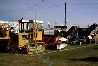 Track marshall Tractors Lincolnshire Show 1970's original 35 mm Slide