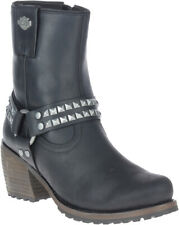 Harley-Davidson Women's Tamori 6-In Black or Grey Fashion Harness Boots, D84670