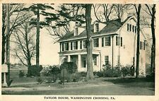 The Taylor House in Washington Crossing PA OLD
