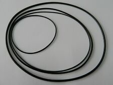 Cinghia NASTRO Set Adatto per TELEFUNKEN magnetophon 203 rubber Drive Belt Kit