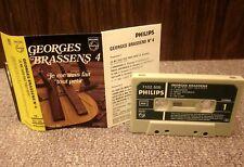 GEORGES BRASSENS 4 cassette tape 1957 La Marche Nuptial poetry France folk