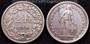 Suisse 2 Francs 1906B