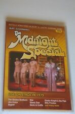 THE MIDNIGHT SPECIAL Live On Stage 1973 NEW Sealed DVD GLADYS KNIGHT Cover Croce