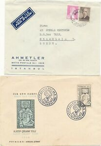 Turkey - Five Covers/ Card / FDC.