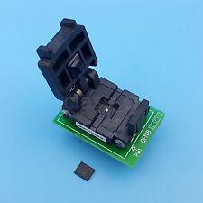 QFN8 MLF8 MLP8 To DIP8 Pitch 1.27mm 6x5mm IC Programmer Adapter Test Socket