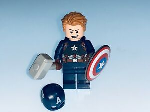 LEGO MARVEL GENUINE CAPTAIN AMERICA AND ACCESSORIES SPLIT FROM SET 76192 - NEW