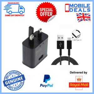 Fast Charger Plug & USB-C Cable For Galaxy S10 S10e S10+ Plus