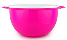 Tupperware Thatsa 42-cup Mega Bowl in Electric Pink with Seal - NEW!