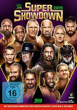WWE Super Showdown 2019 2x DVD DEUTSCHE VERKAUFSVERSION