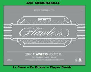 Aaron Rodgers Green Bay Packers 2020 Panini Flawless 1X CASE 2X BOX BREAK #2