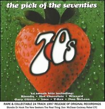 Very Best Greatest 70's Hits CD T.Rex 10cc Gary Glitter Ace New Seekers Dr Hook
