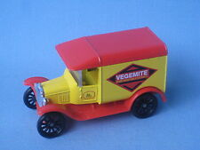 Matchbox MB-44 Ford Model T Van Vegemite Australia Toy Model Vintage 65mm Boxed