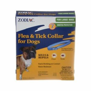 Zodiac Flea & Tick Collar for Large Dogs 7 Months Protection