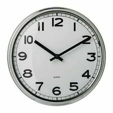 PUGG Wall Clock Stainless Steel NEW