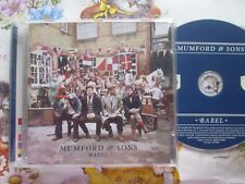 Mumford & Sons ‎– Babel Island Records 3712787 Promo stickered UK CD Album